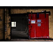 Authorized persons only  Photographic Print