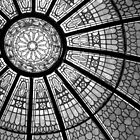 *Glass Dome Abstract in B&W* by DeeZ (D L Honeycutt)