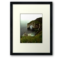 NI - NorthEast coastal delight Framed Print