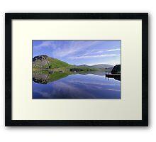 Lake placid Framed Print