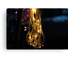The lime lights Canvas Print