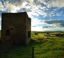 Old Mine Wheel House by Simon Pattinson