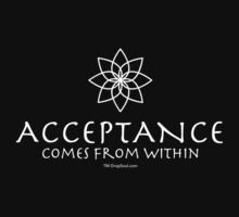 Acceptance Comes from Within (feminine) T-Shirt