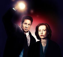 Mulder and Scully by danielctuck