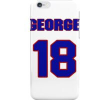 National baseball player George Fallon jersey 18 iPhone Case/Skin