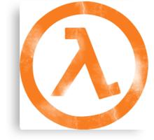 Half-Life Canvas Print