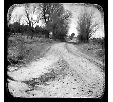 Dirty Back Road Photographic Print