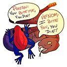 Venom and Poison by cargorabbit