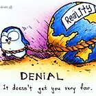 Denial - PenguiNation by ordinarypoet