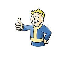 Fallout - Vault Boy Photographic Print
