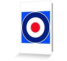 Classic Roundel Graphic Greeting Card