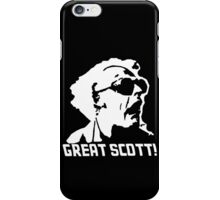 Warning hard hat required.... iPhone Case/Skin
