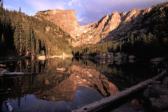 Dream Lake at Sunrise by Gary Lengyel