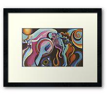 Mirror Spirit in the Wind Framed Print