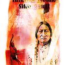 Sitting Bull by Arie van der Wijst