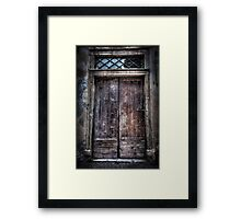 Behind These Doors Part 2 Framed Print