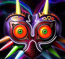 Majoras mask by PuppyNomNom