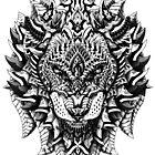 Ornate Lion by BioWorkZ