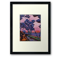 Welcoming of the Water Spirit Framed Print