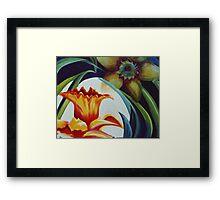 Flower Essence Framed Print