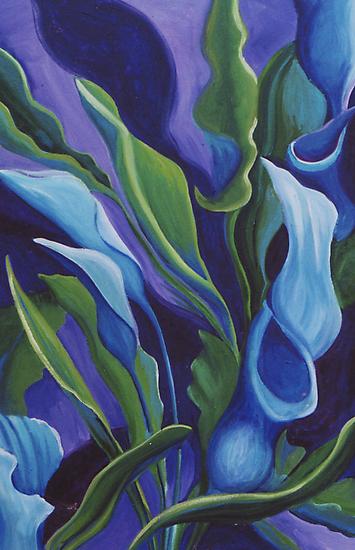 Lily Symphony by Jill Mattson