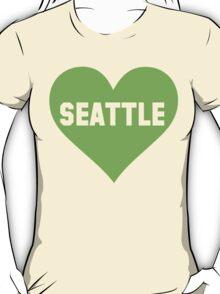 I Love Seattle Football Women's Shirt T-Shirt