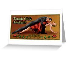 Tango Club Greeting Card
