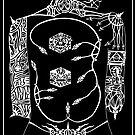 Tattoo B&W by edwin rivera