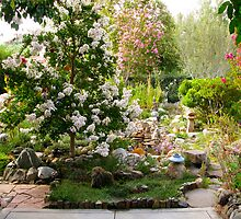 Summer Morning in my Garden by Mark Ramstead