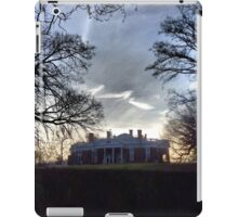 December Twilight at Monticello iPad Case/Skin