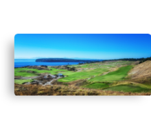 Chambers Bay Golf Links Canvas Print