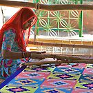 weaving carpets by inge