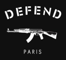 DEFEND PARIS by cybersoul