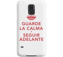 Guarde La Calma Y Seguir Adelante Samsung Galaxy Case/Skin