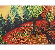 Dance of the Leaves Photographic Print