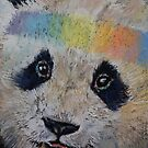Happy Panda by Michael Creese