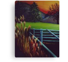 Magic Sunrise Canvas Print