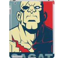Sagat, Street Fighter iPad Case/Skin