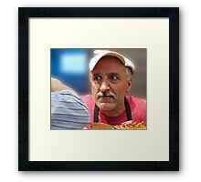 Elbow In Framed Print