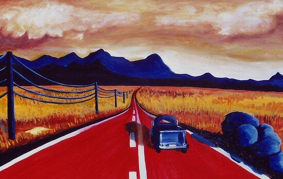 Red Road by Jill Mattson