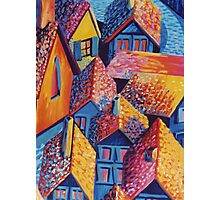 Roof Top Quilt Photographic Print
