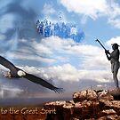 Offering to the Great Spirit by Arie van der Wijst