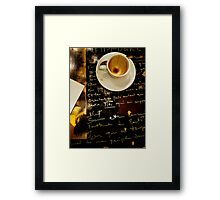 Write To Me (in any language) Framed Print