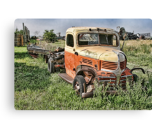 If you rest, you rust. Canvas Print