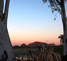 WA Bush Sunset, Kununurra by jwatson