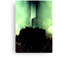 Dark City Canvas Print