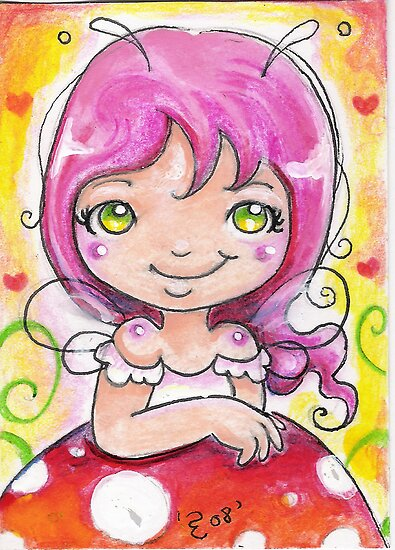 ACEO fairy by earth18