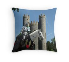 Blaise Castle's Knight Throw Pillow