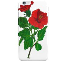 Red Hibiscus iPhone Case/Skin
