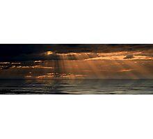 Panoramic Sunset Photographic Print